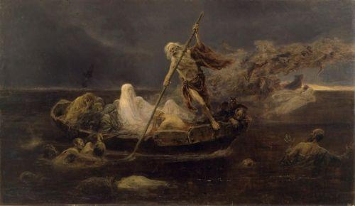 La barca de Caronte - Jose Benllier y Gil