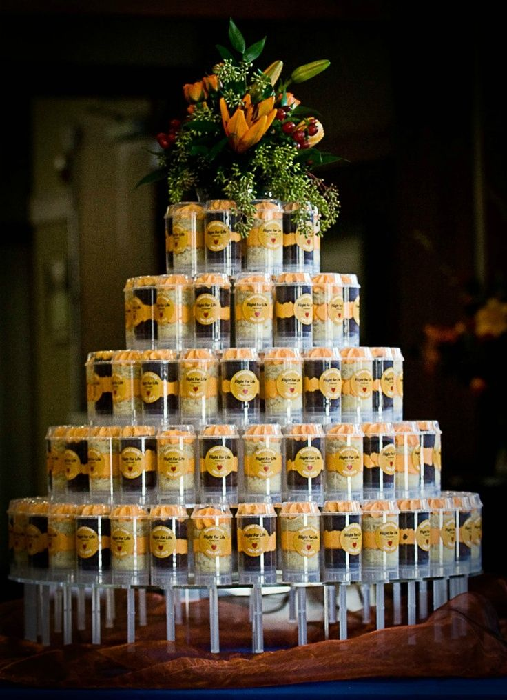 Push Up Pop Tiers The Newest Wedding Idea To Replace Cupcakes
