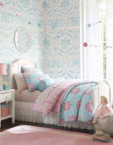 Stencil Or Wallpaper Like The Subtlety Of Colour In The