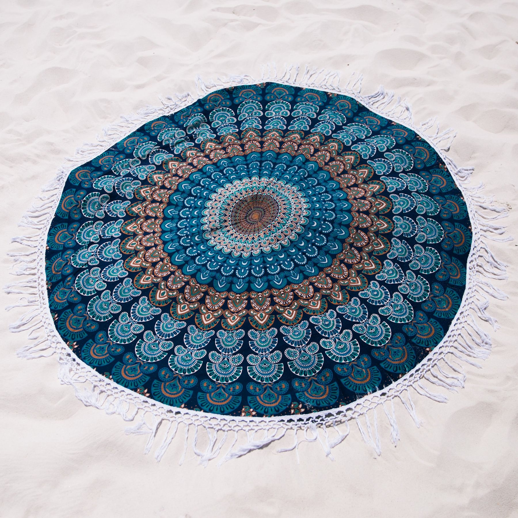 Teal Dreams Roundie from https://thebohemianshop.com