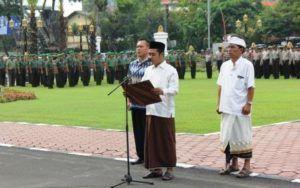 Jawa Timur Upacara Kebhinekaan Cinta Damai