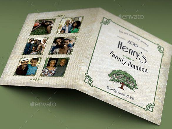 32+ Family Reunion Invitation Templates - Free PSD, Vector EPS - family reunion templates
