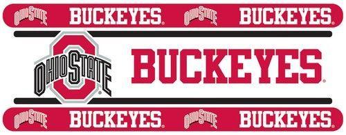 Ohio State University Buckeyes Kids Wallpaper Border
