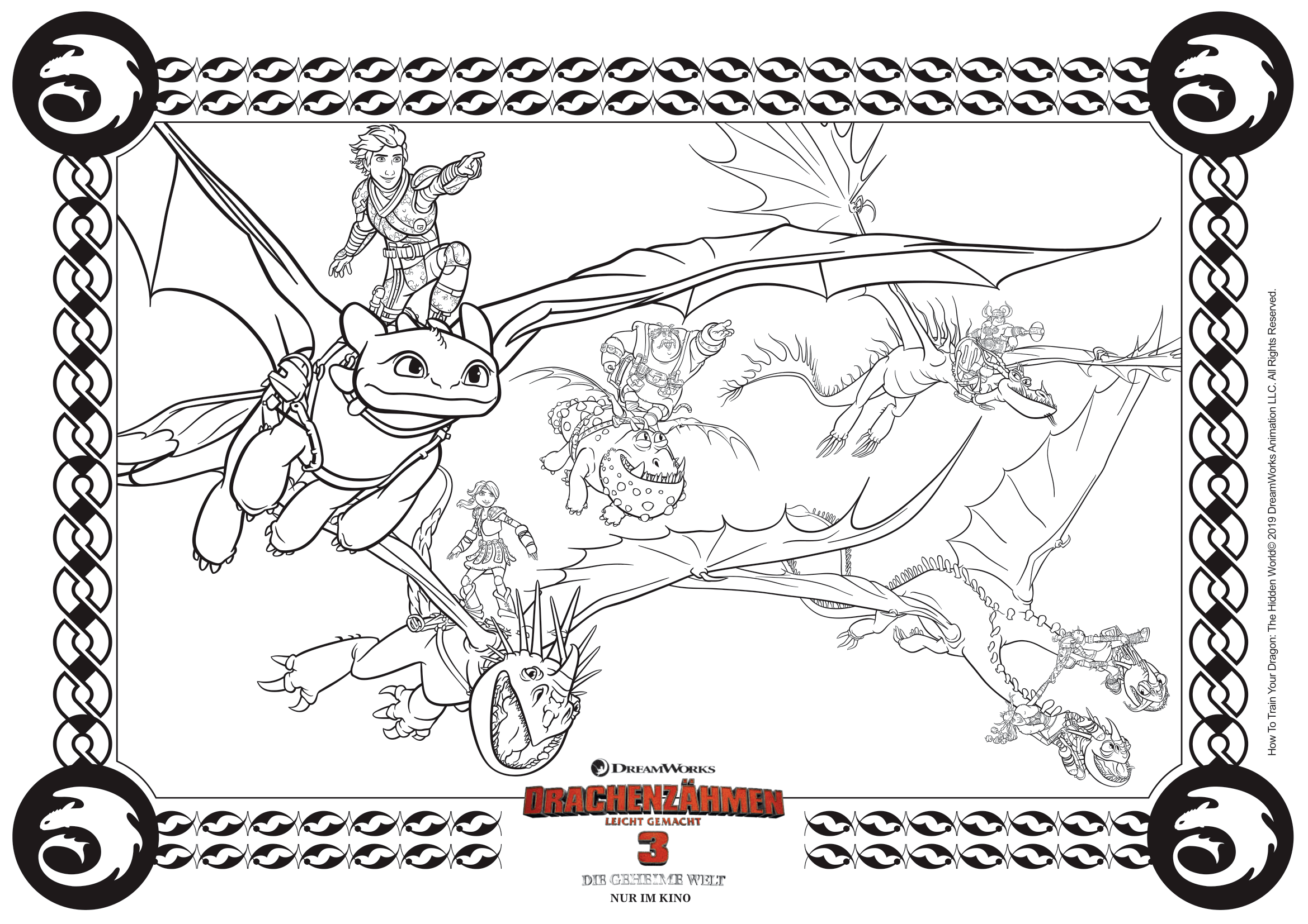 Pin Von Monika Petmon Auf Sarkany Pokemon Malvorlagen Drachenzahmen Leicht Gemacht Geburtstag Malvorlagen