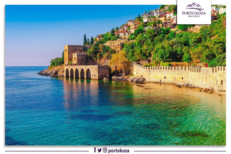 المناطق السياحية الأشهر في أنطاليا بورتوكوزا العقارية In 2020 Antalya Travel Pictures Beautiful Destinations