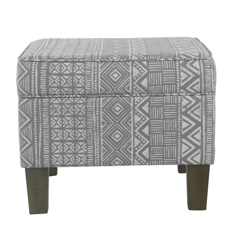 Miraculous Bungalow Rose Morel Storage Ottoman Reviews Wayfair Onthecornerstone Fun Painted Chair Ideas Images Onthecornerstoneorg