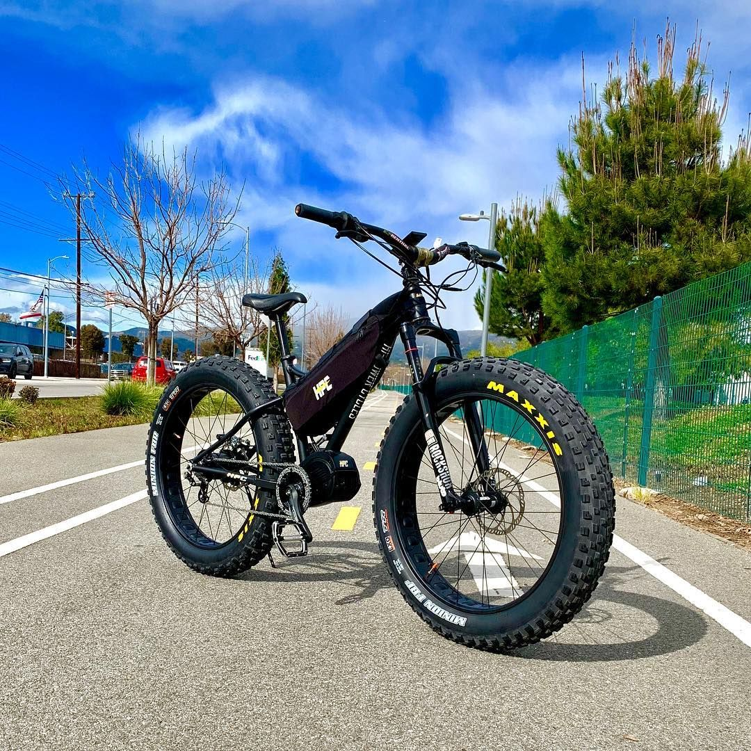 Hi Power Cycles Riding Ahead Of The Storm On This Titan Pro With A Rohloffspeedhub And Electric Bike Electric Bicycle Conversion Kit American Craftsmanship