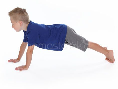 Plank Pose - Kids Yoga Poses & Exercises | Gross motor ...