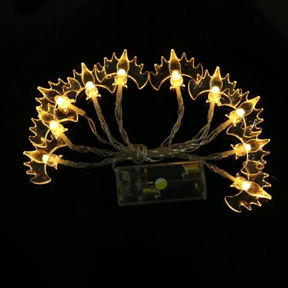 Diy Decorations Antallcky Decoration Bat Fairy String Lights 8 2ft 20 Waterproof Led Battery Operated For