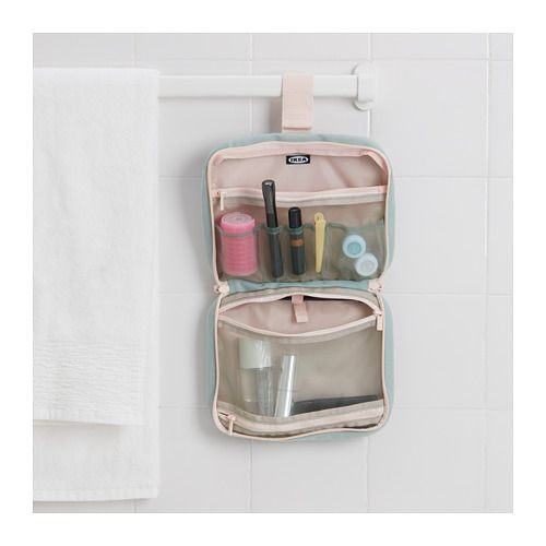b1225a3d051f FJÄRMA Toiletry bag IKEA You can hang this toiletry bag, which has ...