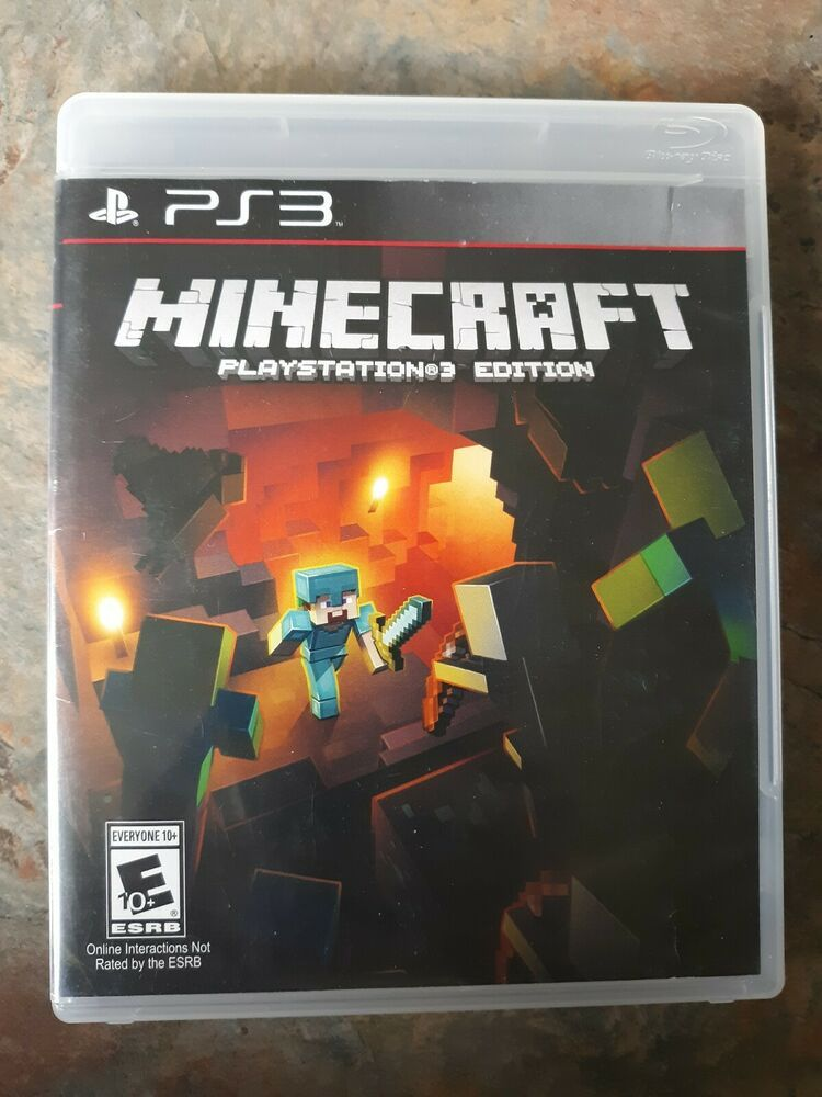 Minecraft Ps3 Edition Game Sony Playstation 3 Minecraft Playing Game Playstation Minecraft Sony Playstation