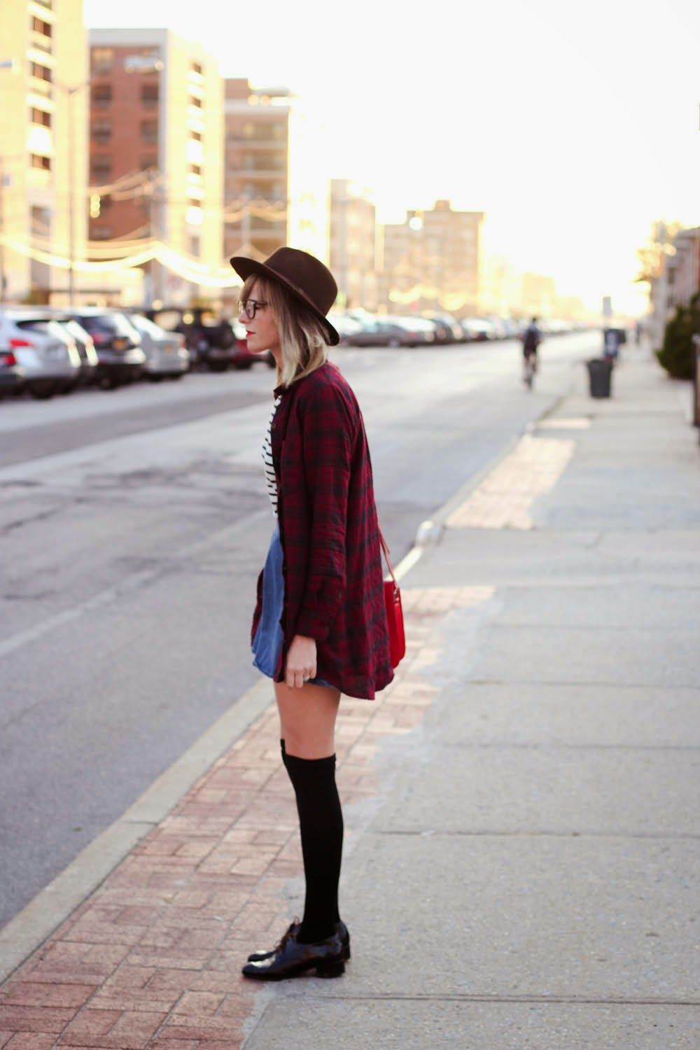 flannel shirt // fall style