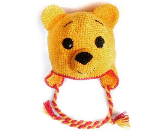 88b16a80c4c Winnie The Pooh Hat Crochet