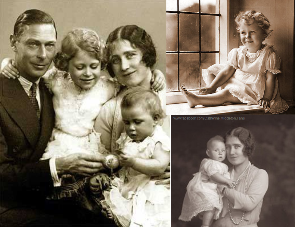 New born Princess Margaret with her family VI, The