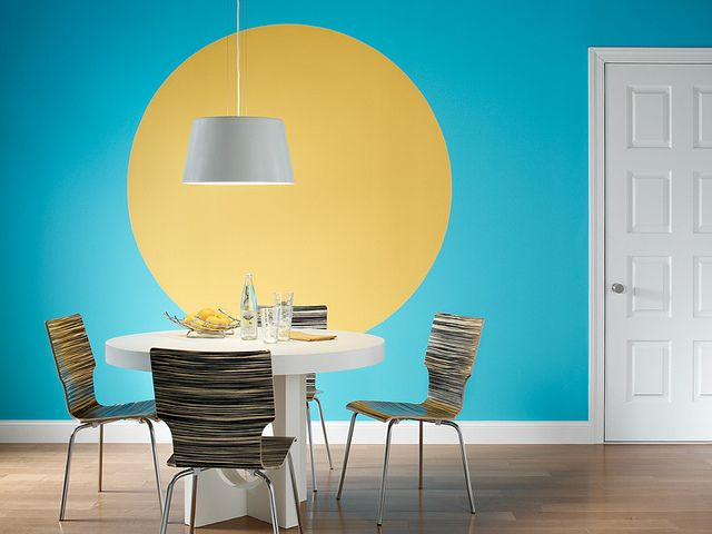 Attractive Teal Wall Paint Pictures - All About Wallart - adelgazare ...