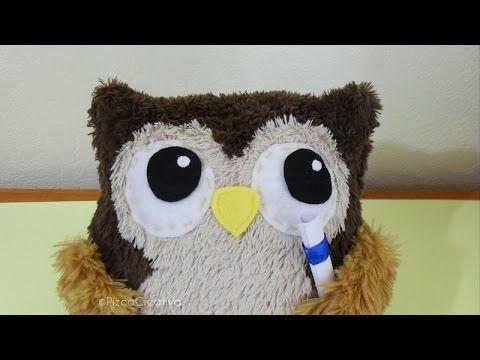 Pizca Creativa Diy Búho De Peluche Ideal Para Graduación Moldes Gratis Teddy Toys Handmade