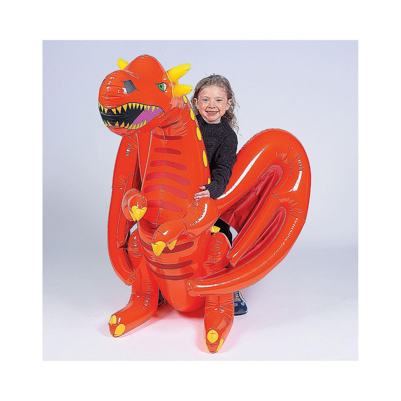 Inflatable Dragon - OrientalTrading.com | Stuff To Buy | Pinterest ...