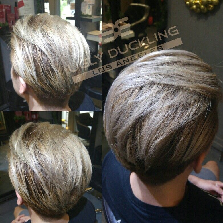 Mens Hair Color Ash Blonde By Ugly Duckling  Master Coloring Contrast Dye