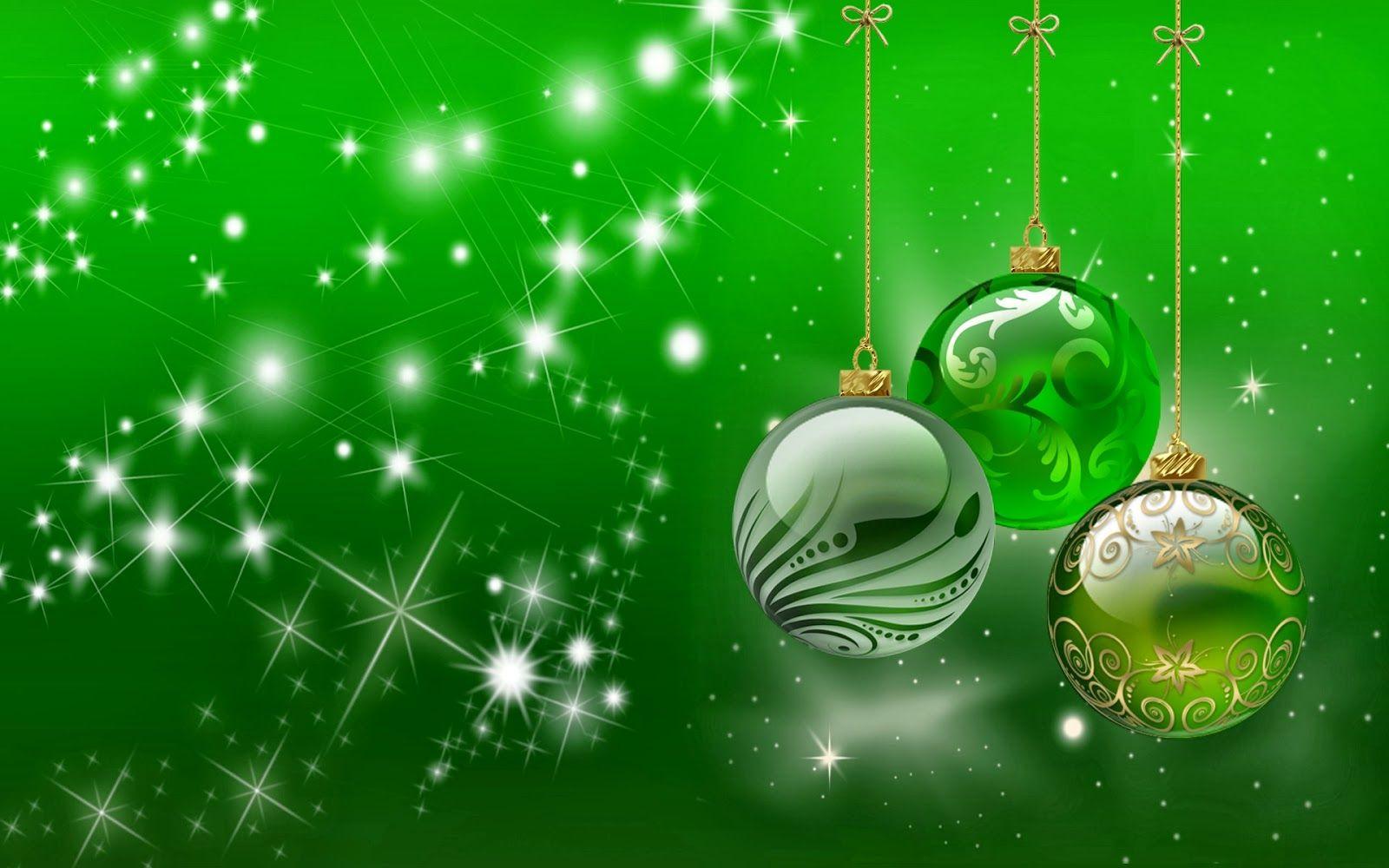 Green Christmas Background HD Wallpaper | All Wallpaper