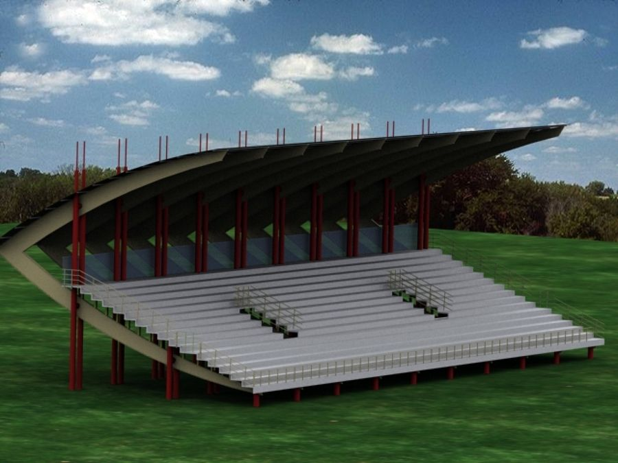 gradas para cancha de futbol 900 675 campos On diseño de gradas