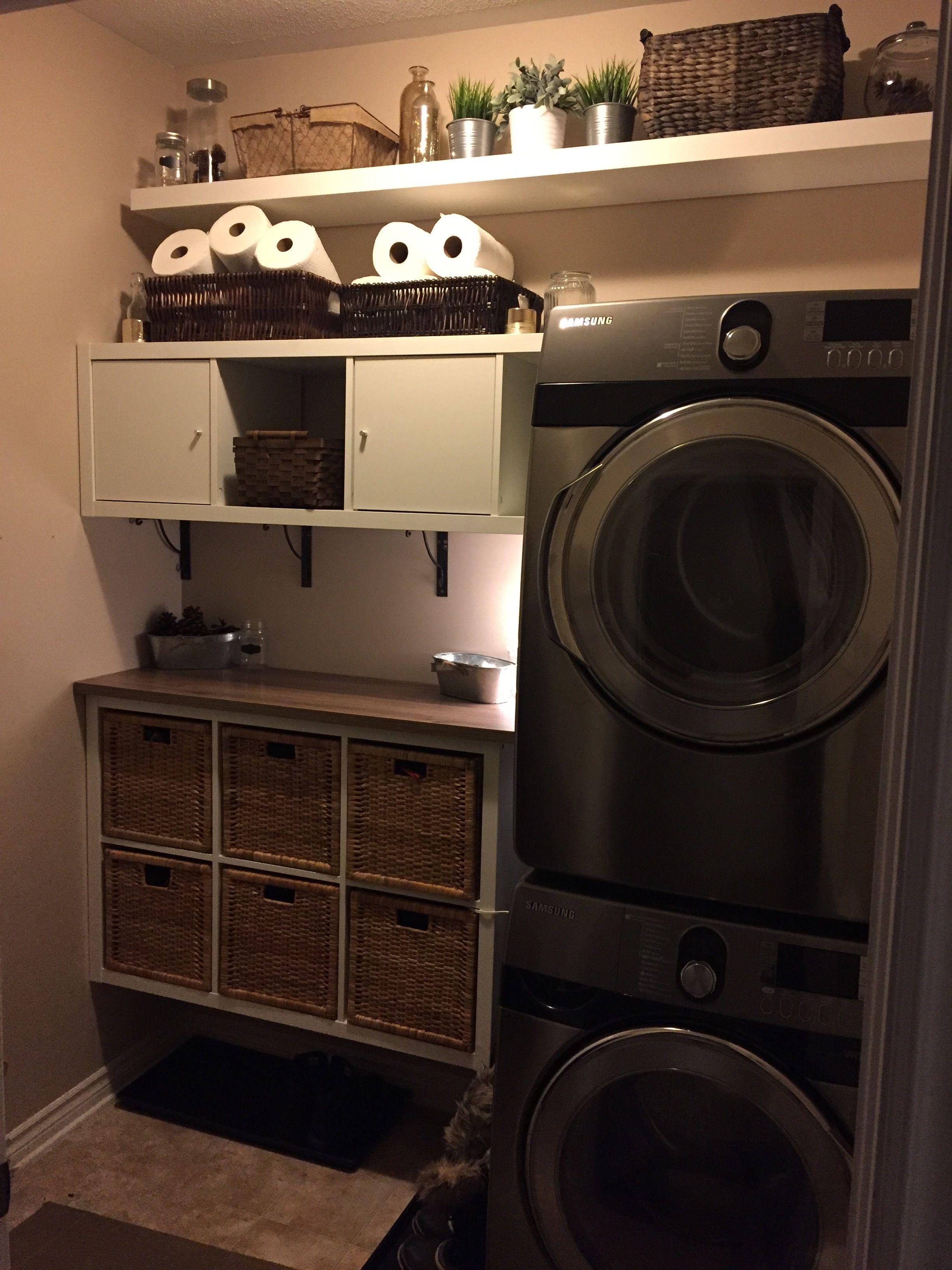 Laundry Room Ikea Hack Kallax Laundry Room Laundry Room Hacks
