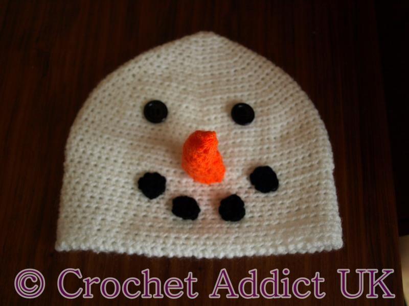 Snowman Beanie Hat 1 yr+ | Christmas Crochet | Pinterest | Snowman ...