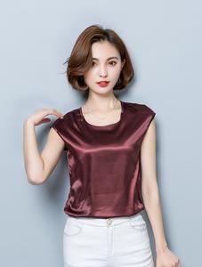 Women Blouses Casual OL Silk Blouse Summer Loose Basic Satin Shirt Work Wear Blusas Tops women top blouse Women Leggings