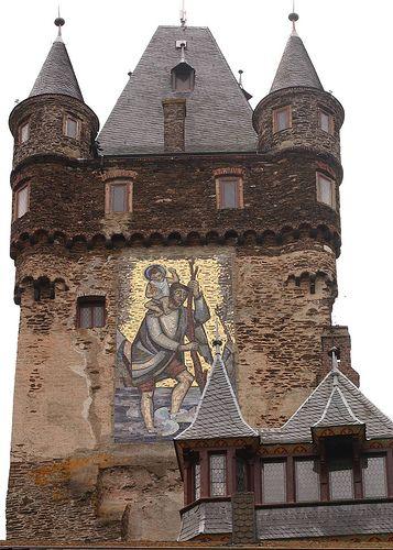 Tower of reichsburg castle cochem germany castles - Cochem alemania ...