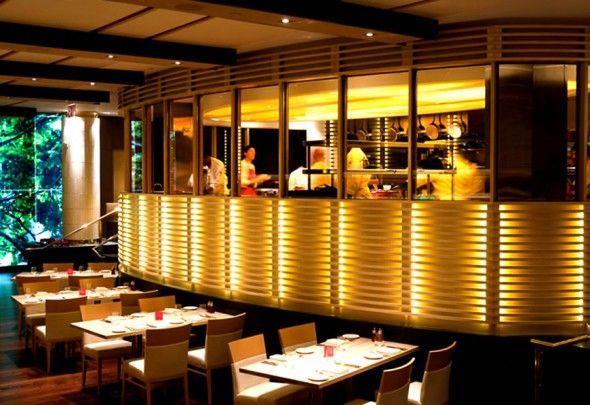 Open Kitchen Restaurant In New York Restaurant Kitchen Design Kitchen Design Open Restaurant Design