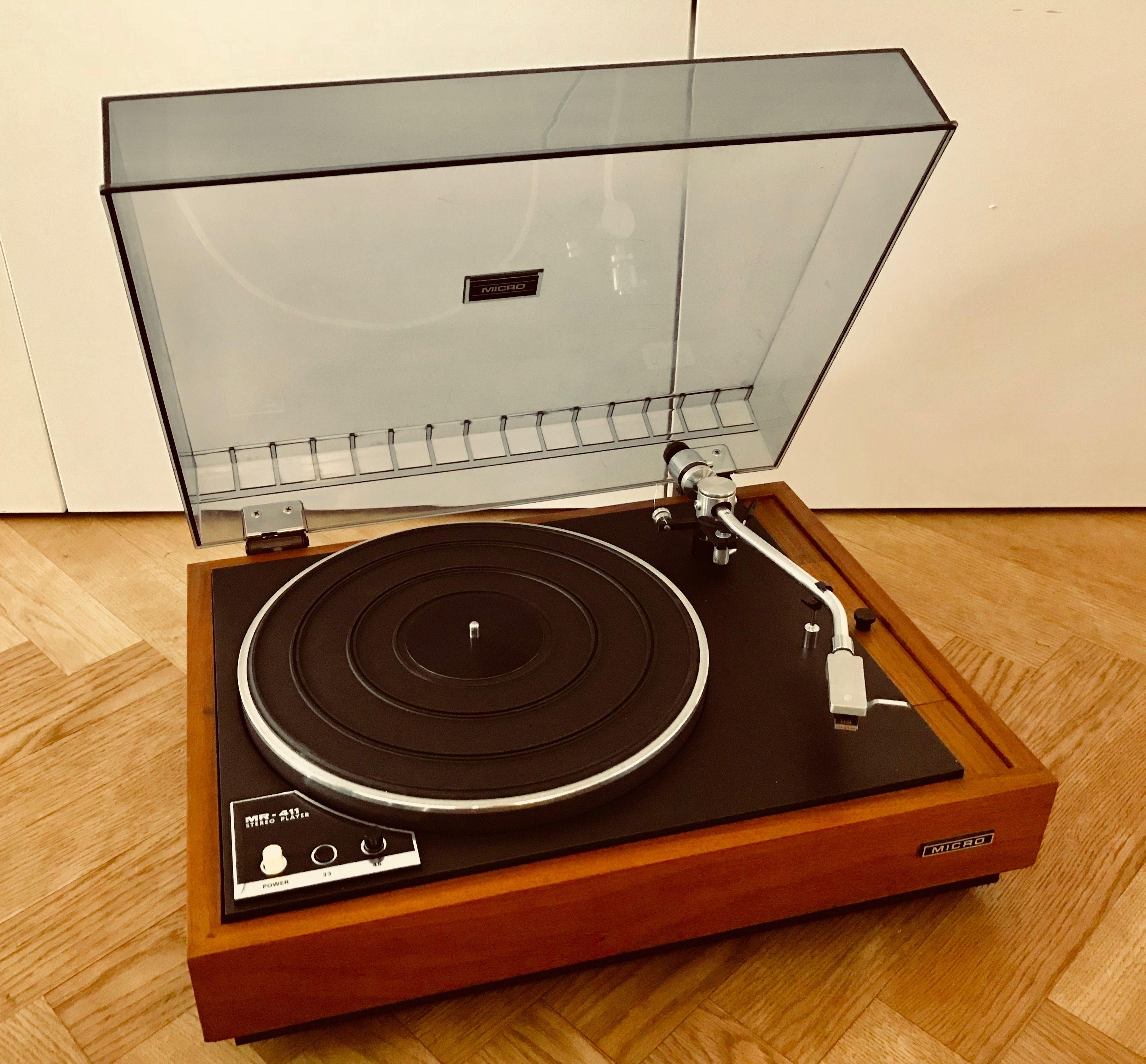 Micro Seiki MR-411 | Micro Seiki in 2019 | Turntable, Studio