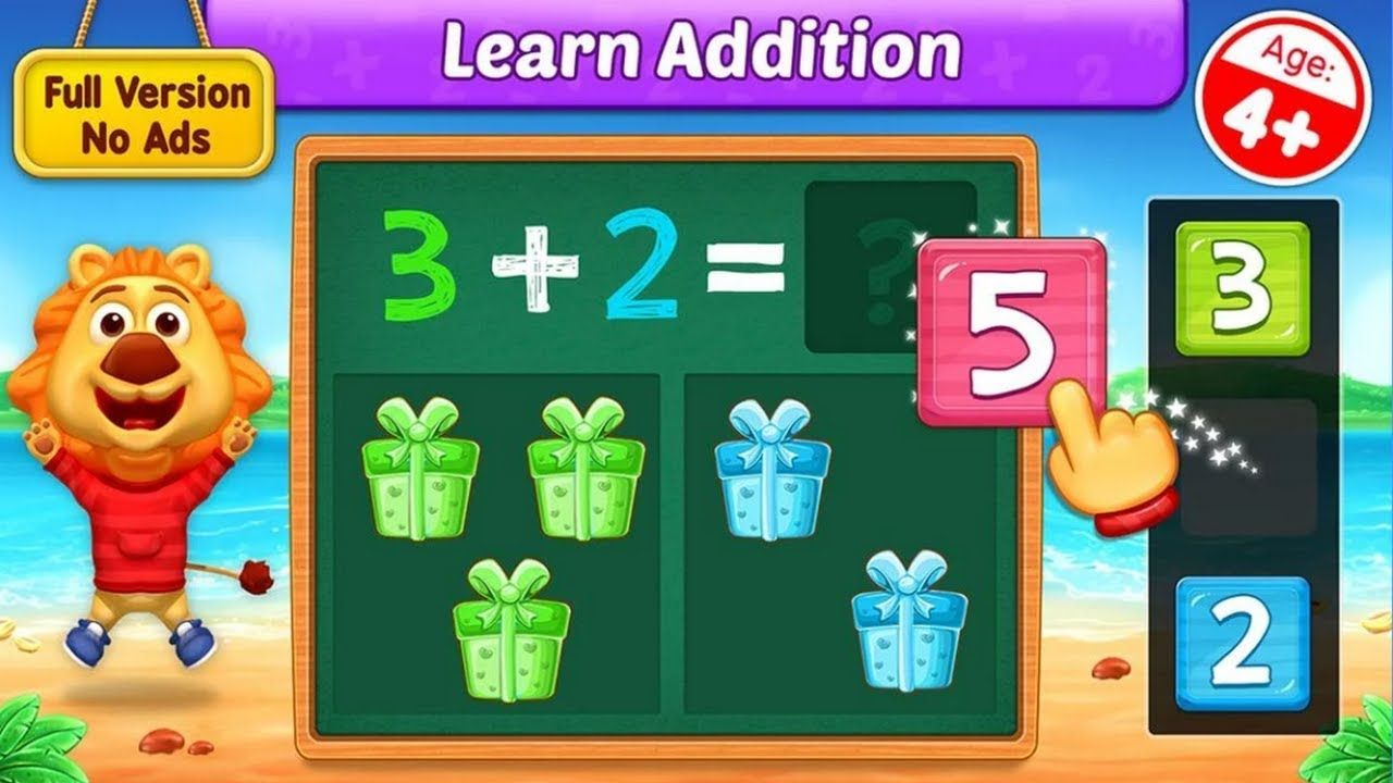 Math Kids - Add, Subtract, Count and Learn - Adding Fun Learn ...
