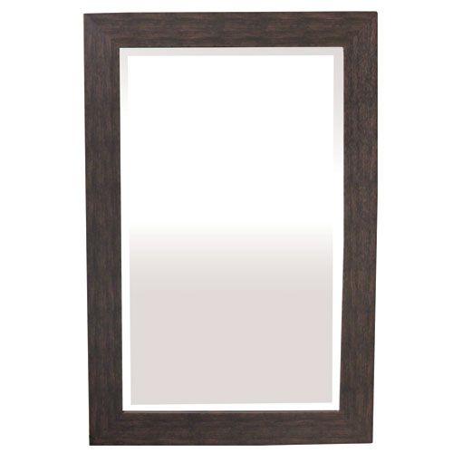 Yosemite Home Decor Espresso 36 Inch Tall Framed Mirror Wall