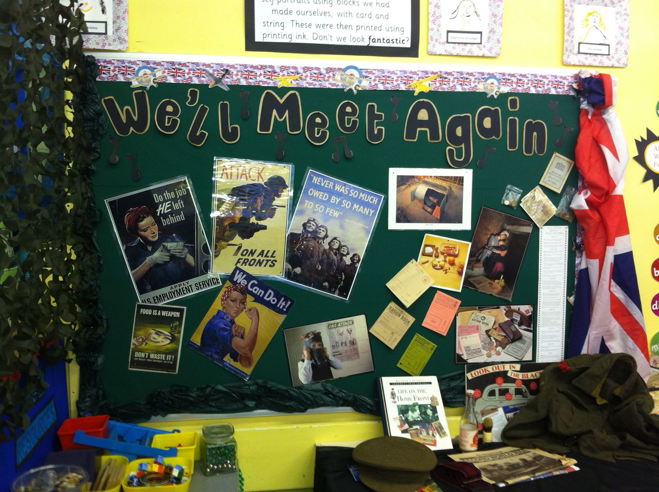 Ks2 World War Ii Display History Primary School