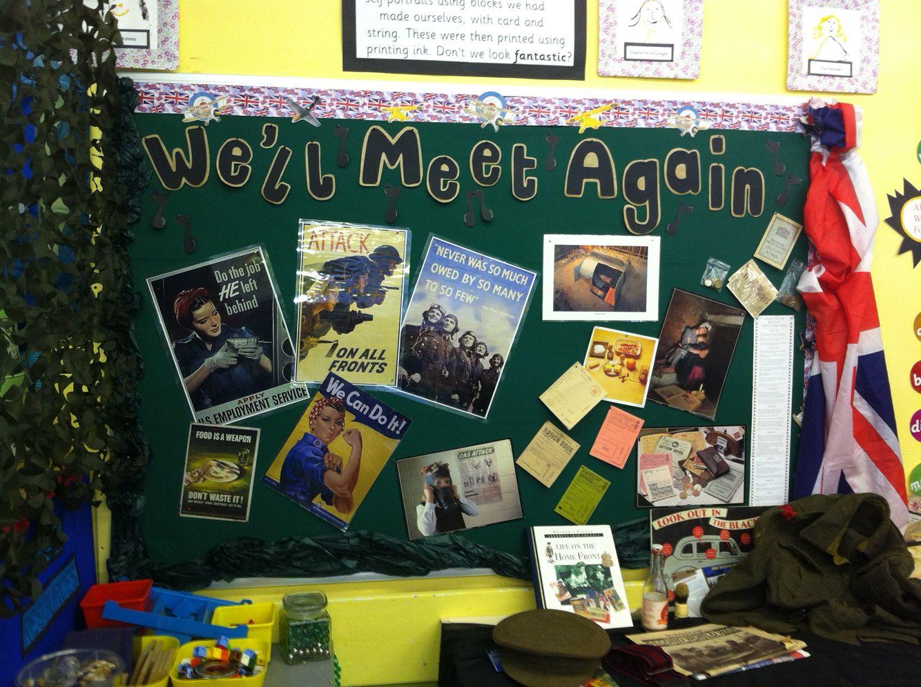 Ks2 World War Ii Display History Primary School