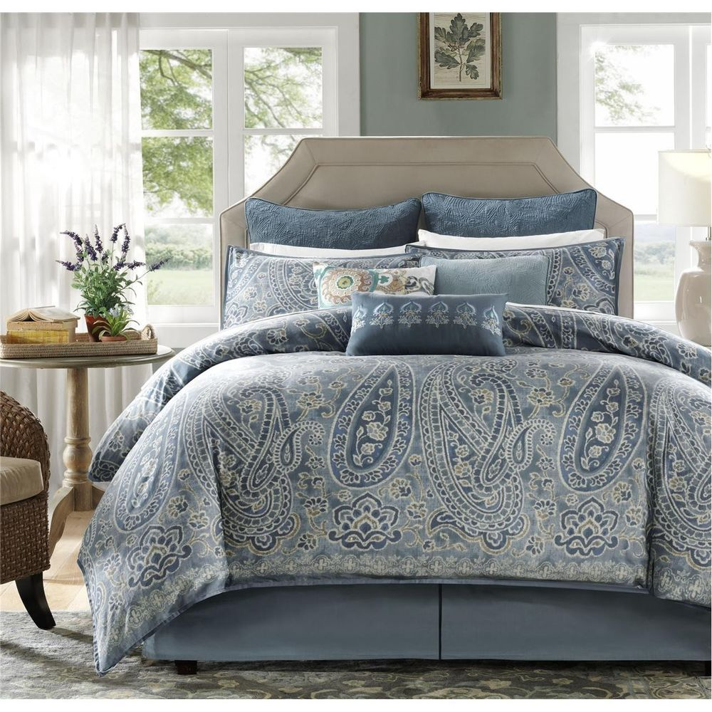 Harbor House Belcourt 10 Piece Comforter Set King Multi Duvet Cover Sets Bedding Sets Comforter Sets