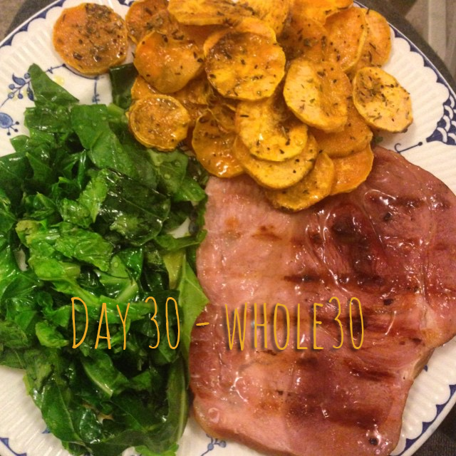 Sweet potato chips and more Whole30 ideas.