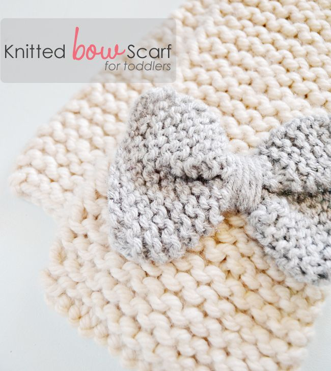 a little scarf for girls. has a button hole and bow is used as the ...