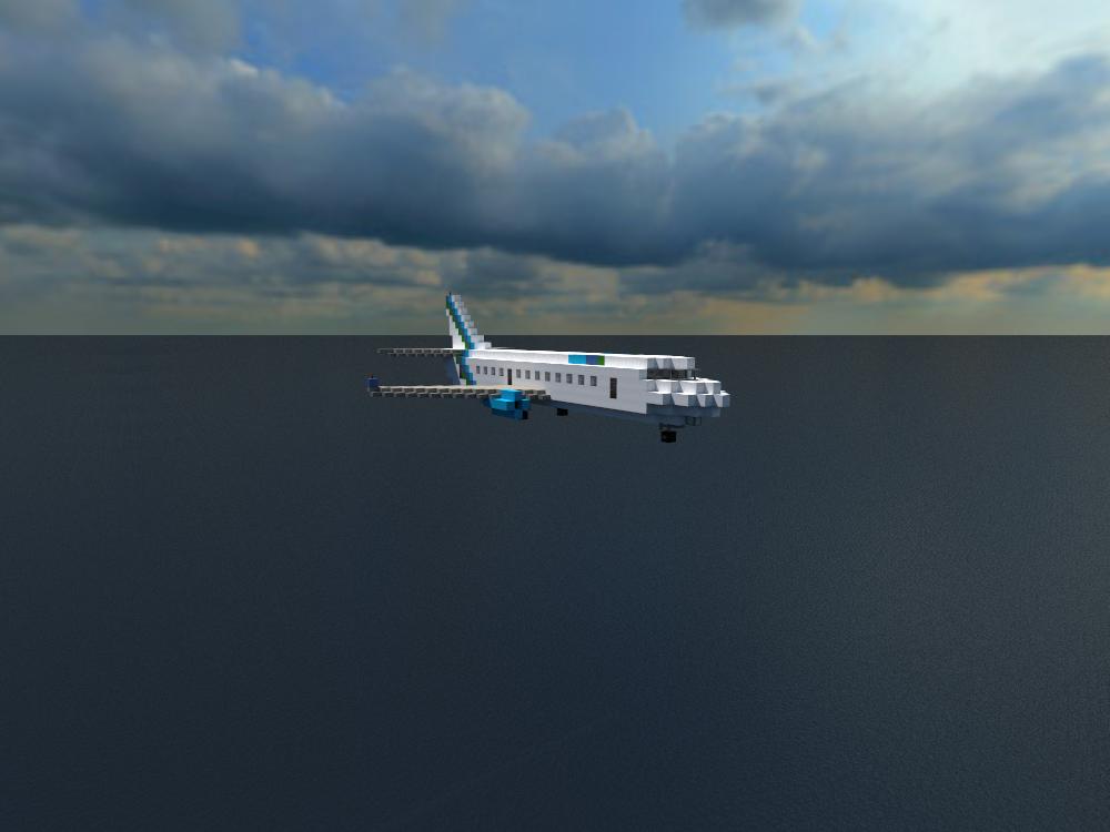 minecraft plane by yazur -#main