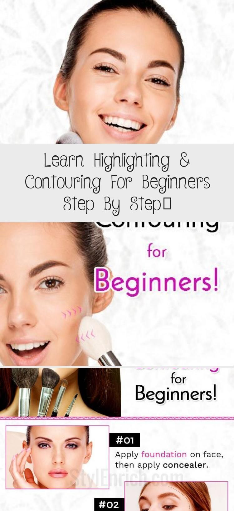 Photo of Learn Highlighting & Contouring For Beginners Step By Step… – MAKEUP – Hig…