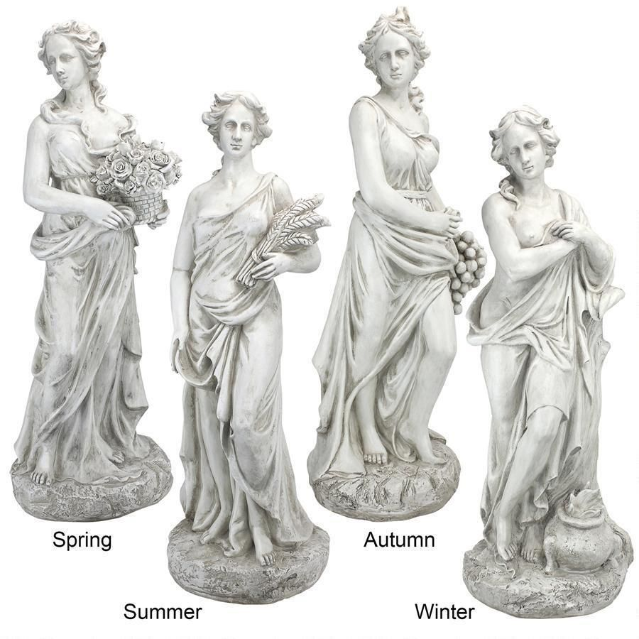 Goddesses of the Four Seasons Statue Collection Goddesses and Products
