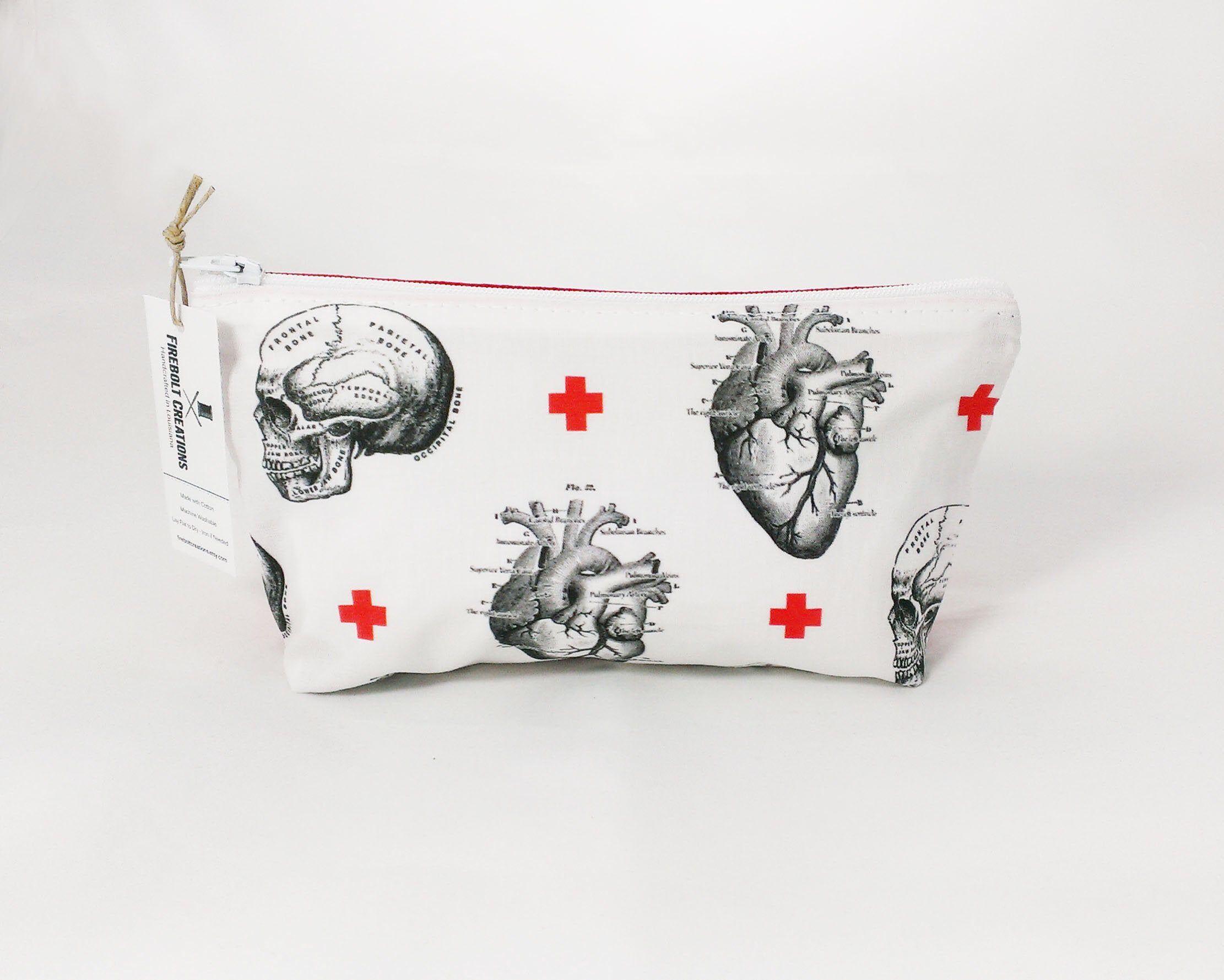 Medicine Bag medical student gift Anatomical Heart toiletry bag women nursing student nurse gift doctor gift halloween 061d784abb758102d0c1aef3d700bf03
