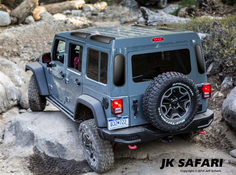 Jk Safari Cab Jeep Jk Jeep Wrangler Unlimited Accessories Jeep Gladiator