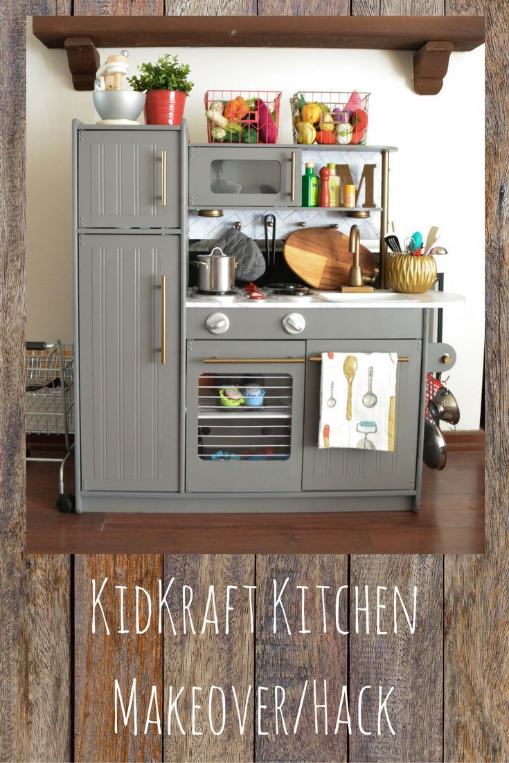 Kidkraft Küche Espresso How To Hack Your Way Into This Kidkraft Play Kitchen Makeover | Kids Play Kitchen, Play Kitchen, Diy Play Kitchen