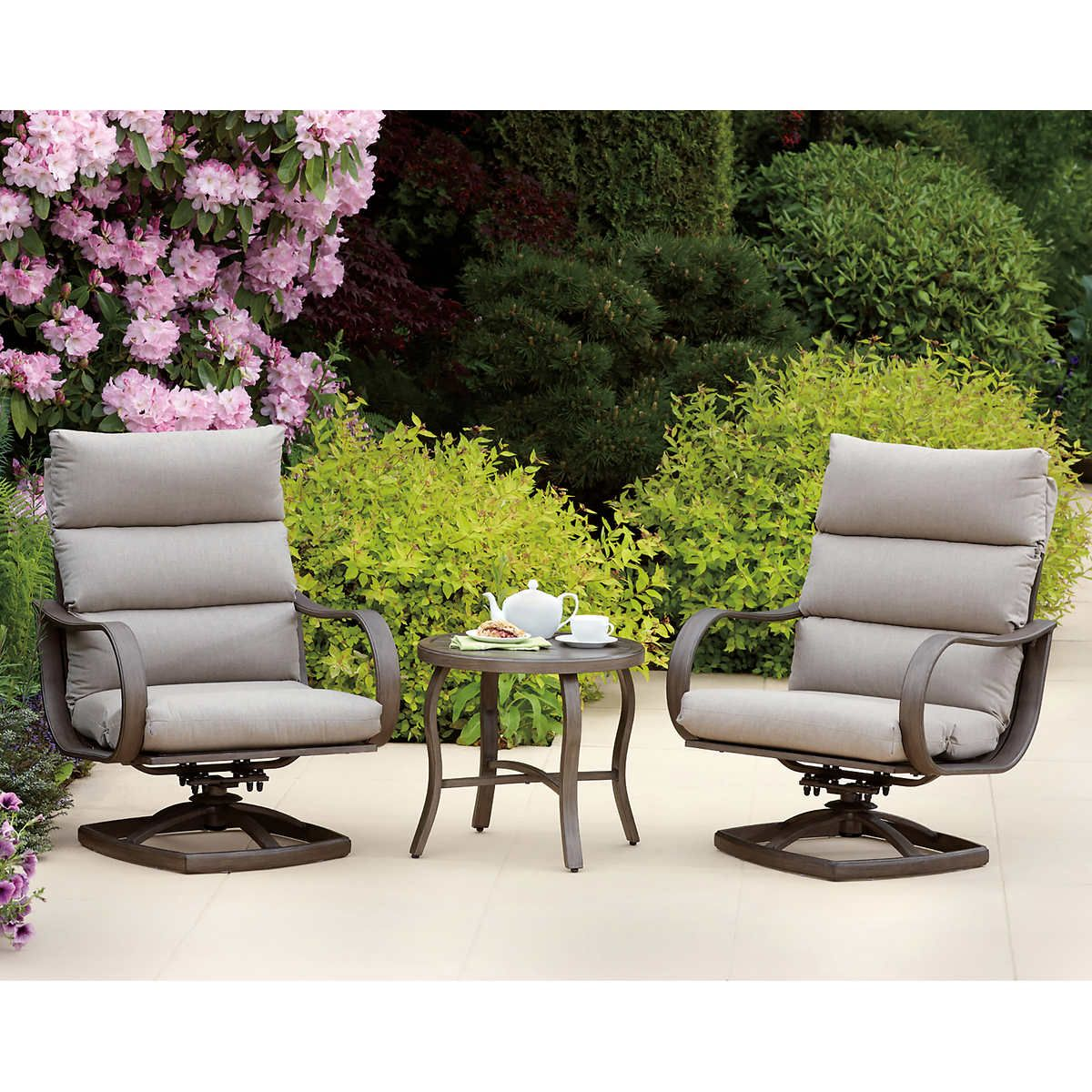 Regency 9-piece Patio Conversation Set  Conversation set patio