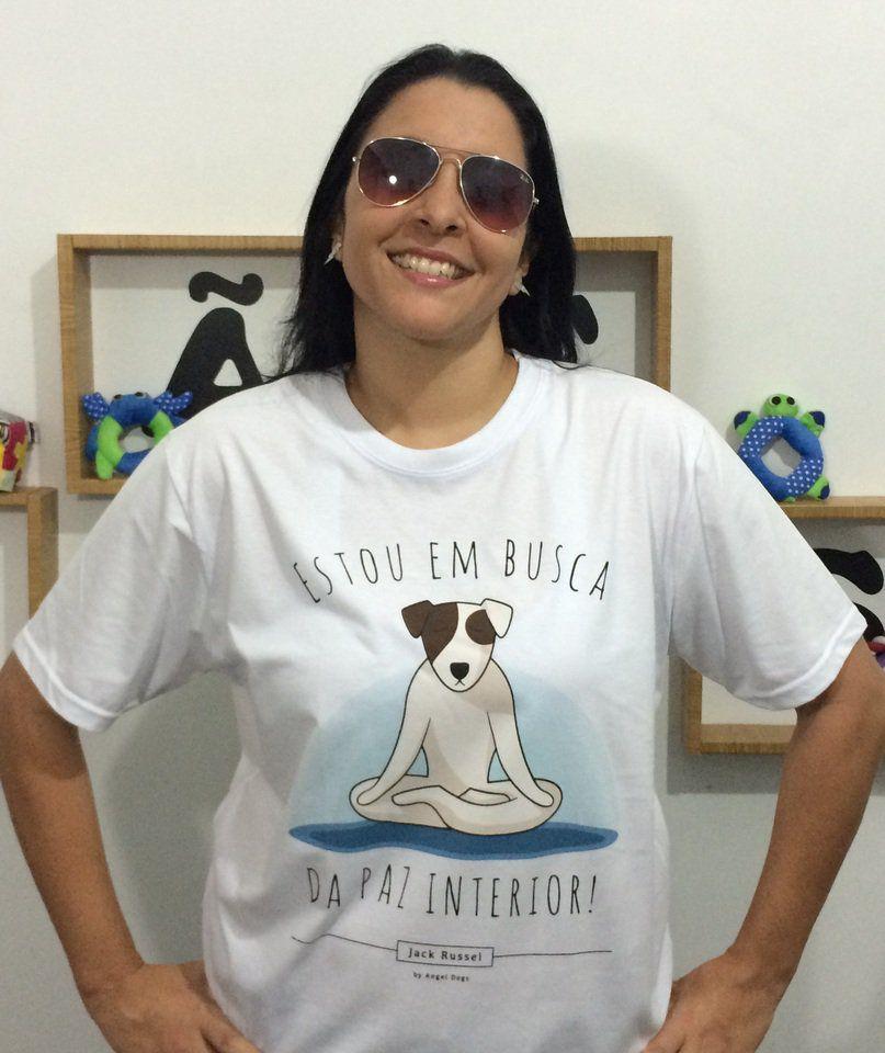 Camisetas Jack Russel. Em busca da paz interior