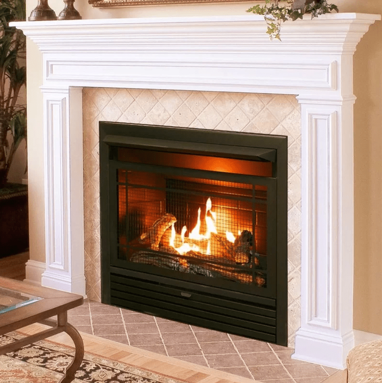 The 7 Best Gas Fireplace Inserts Of 2019 In 2019 Fireplace