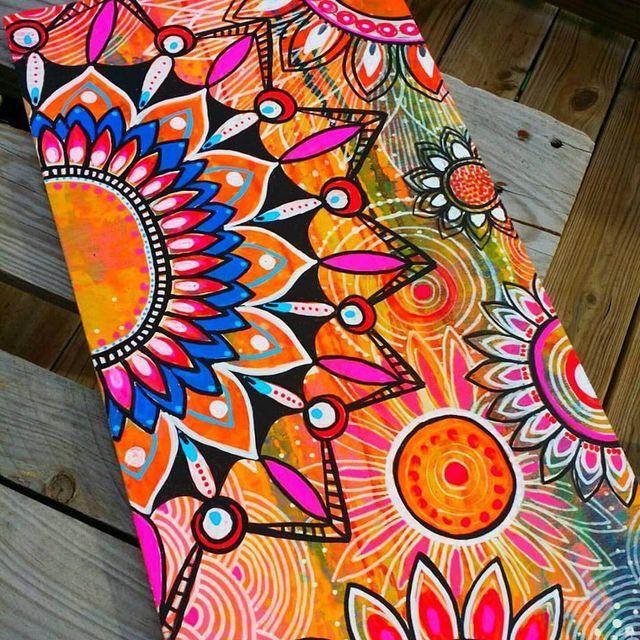 Pin By Rachel Levron On Monar Mandala Design Art Art Painting Colorful Art