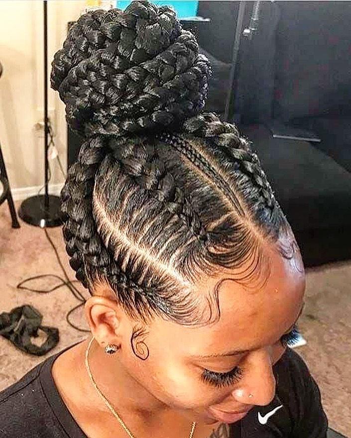 19 Hottest Ghana Braids Ideas For 2021 In 2021 Braided Bun Hairstyles Cornrow Hairstyles Braided Hairstyles