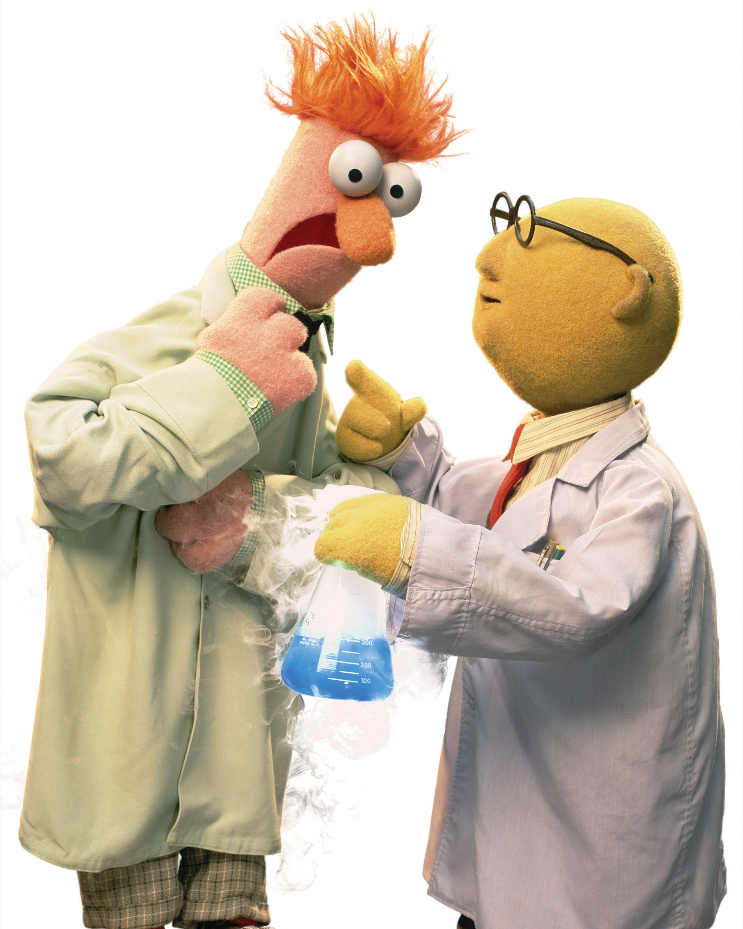 bunsen honeydew and beaker