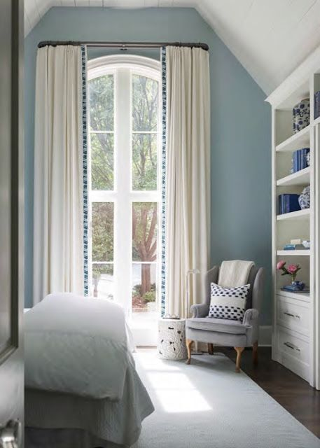 trim on curtains